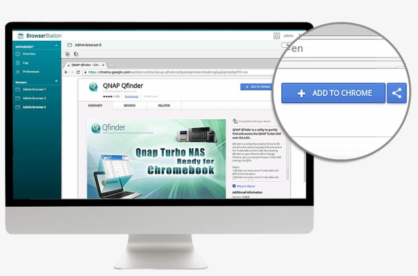 Install Qnap Qfinder Browser Extension - Qnap Browser