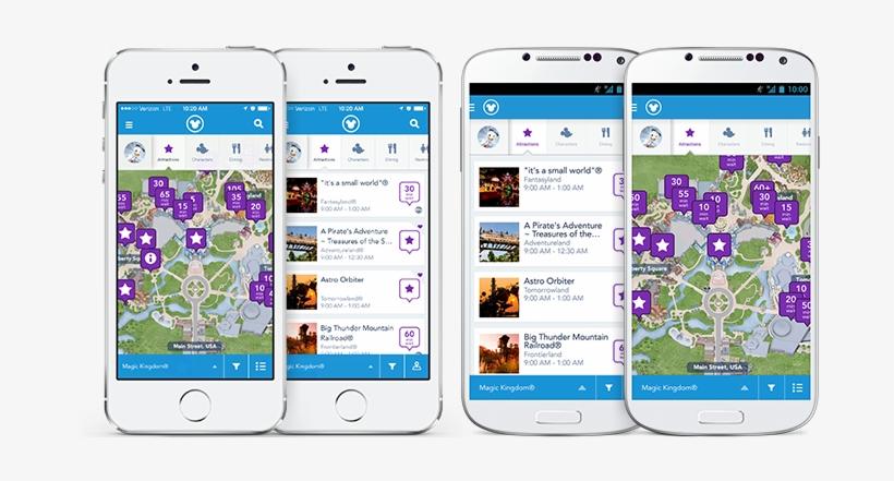 140130 Pc Site 900x360-c - Disney World App, transparent png #5828548