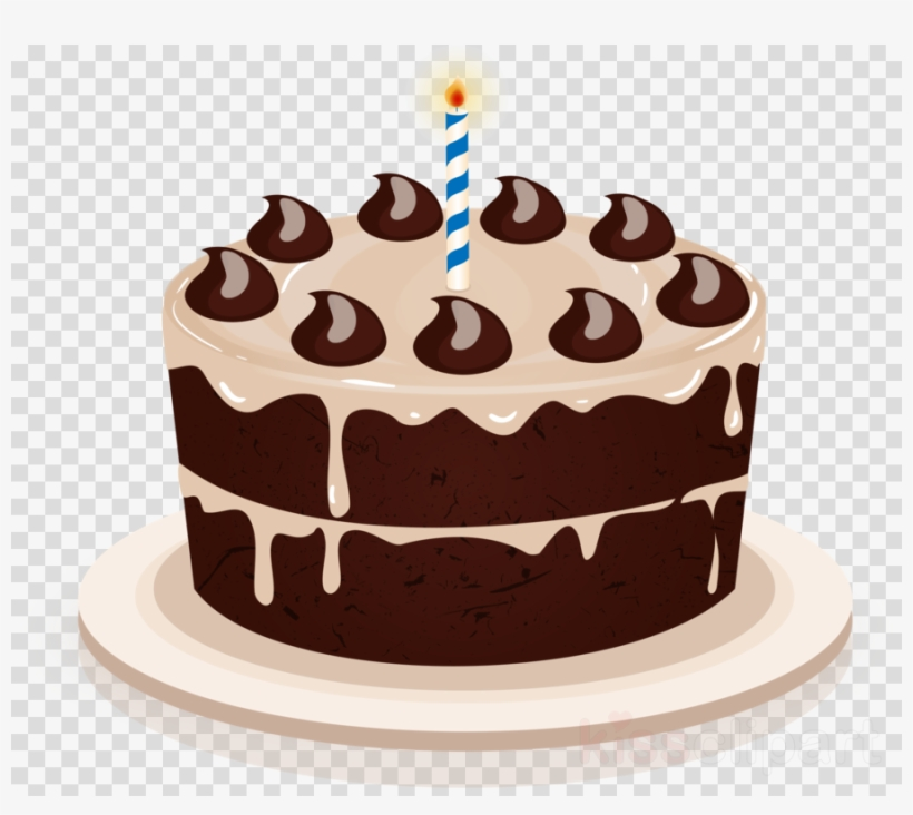 Happy Birthday Cake Transparent Clipart Cupcake Chocolate - Happy Birthday Wishes For Anthony, transparent png #5829187