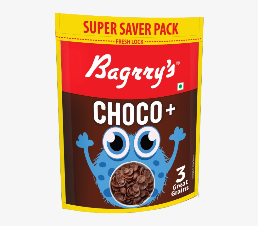Choco With 3 Great Grains - Bagrry's Protein Muesli With Whey Protein , Almonds, transparent png #5830835