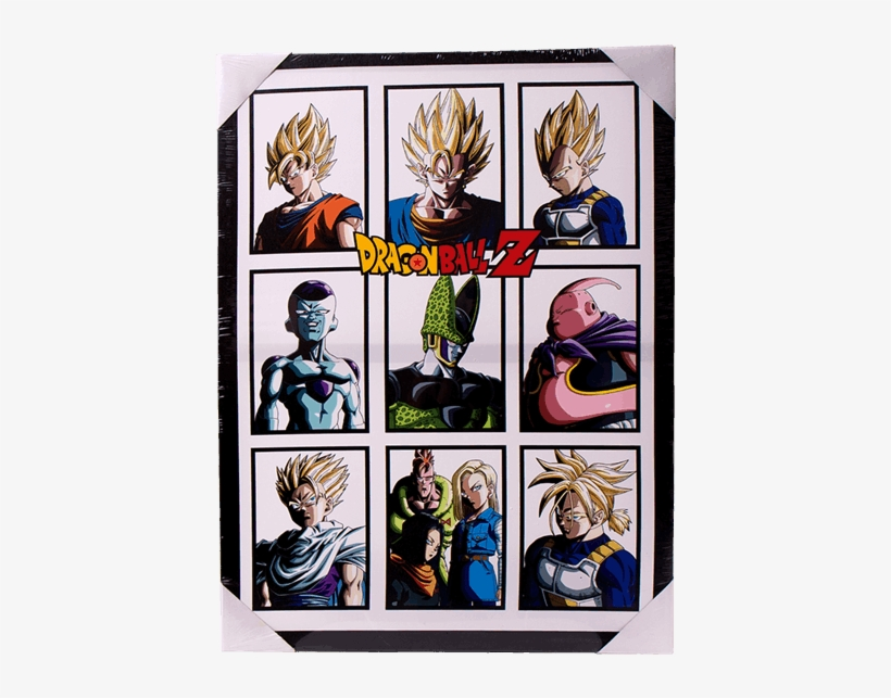 1 Of - Dragon Ball Z Character Squares, transparent png #5834873