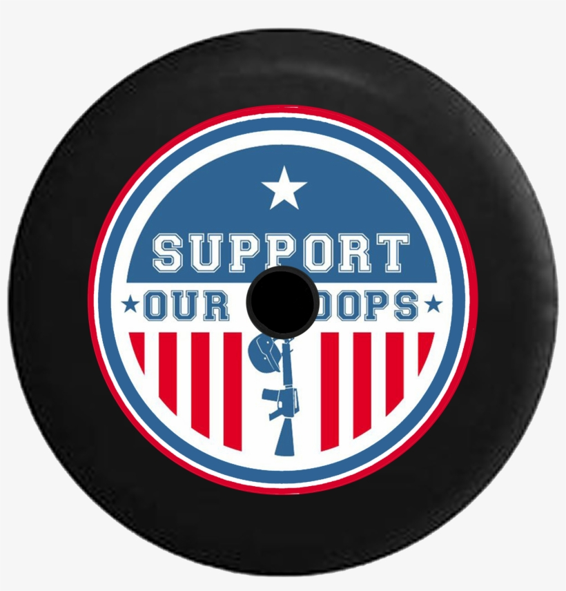 Jeep Wrangler Jl Backup Camera Support Our Troops Military - Support Our Troops Free Clipart, transparent png #5841186