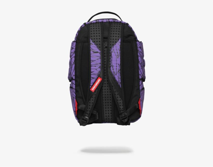 Sprayground 3m Purple Wings Adult Laptop Urban Backpack - Sprayground Deadpool Unicorn, transparent png #5844340