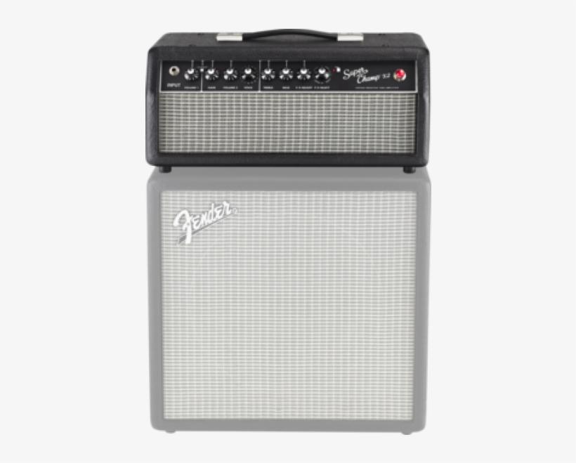 Fender Superchamp X2 Guitar Amplifier Head Amp 15w - Fender Super Champ X2 Hd 15w Guitar Amp Head, transparent png #5851932