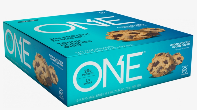 Chocolate Chip Cookie Dough Bar - Oh Yeah One Bar 12 Bars Blueberry Cobbler, transparent png #5853945