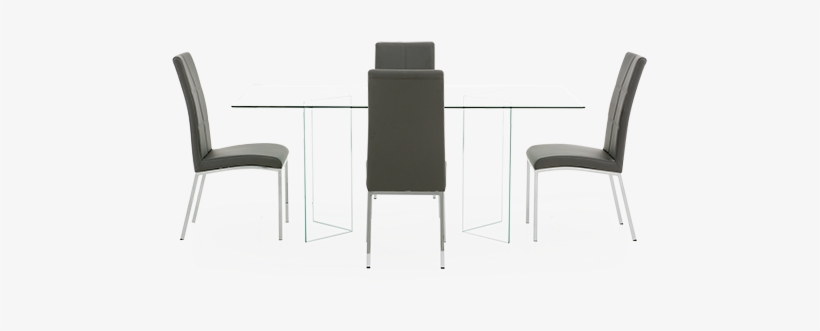 Image For Grey Kitchen Room With Gl Table From Brault