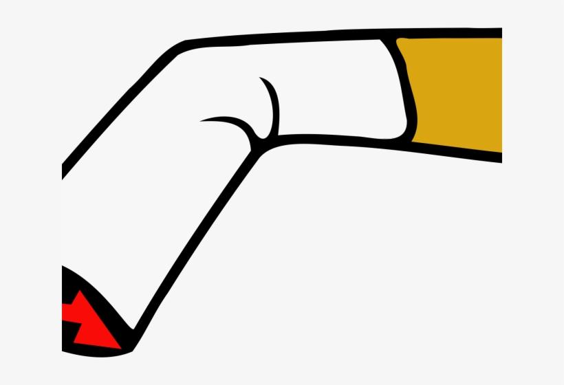 Smoking Clipart Cigarette - Clipart Png Cigarette Cartoon, transparent png #5856059