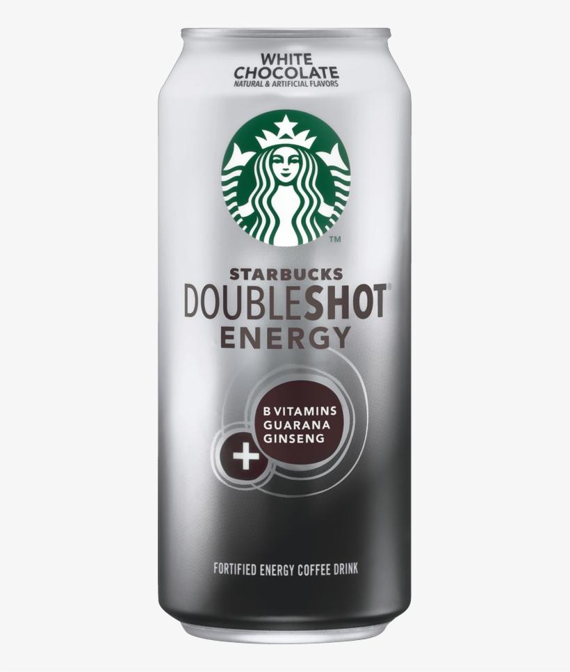 Starbucks Doubleshot Energy White Chocolate - Starbucks White Chocolate Mocha Can, transparent png #5860756