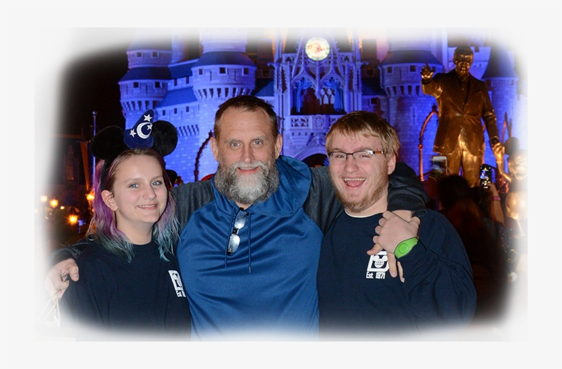 Lori Had To Take Her Elderly Father Out West For A - Disney World, Cinderella Castle, transparent png #5862654