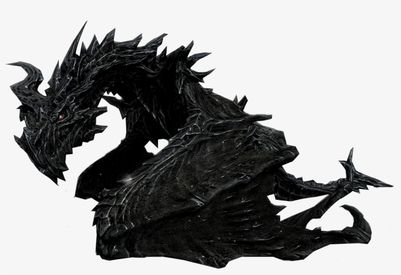 Alduin Skyrim Alduin Without Background Free Transparent Png