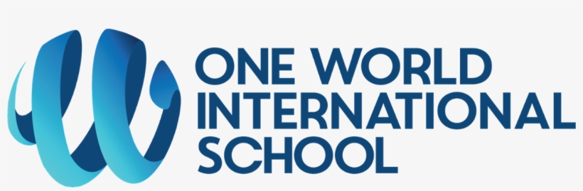 One World International School Logo, transparent png #5864085