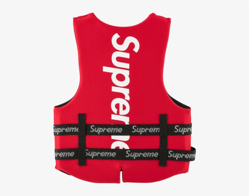 Supreme Life Vest Free Transparent Png Download Pngkey