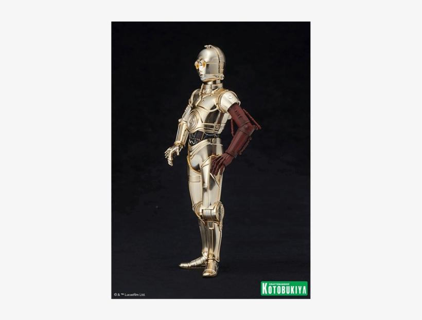 C 3po, R2 D2 And Bb 8 1/10 Scale Artfx Kotobukiya Statues - Star Wars Artfx+ R2-d2 & C-3po With Bb-8, transparent png #5876960