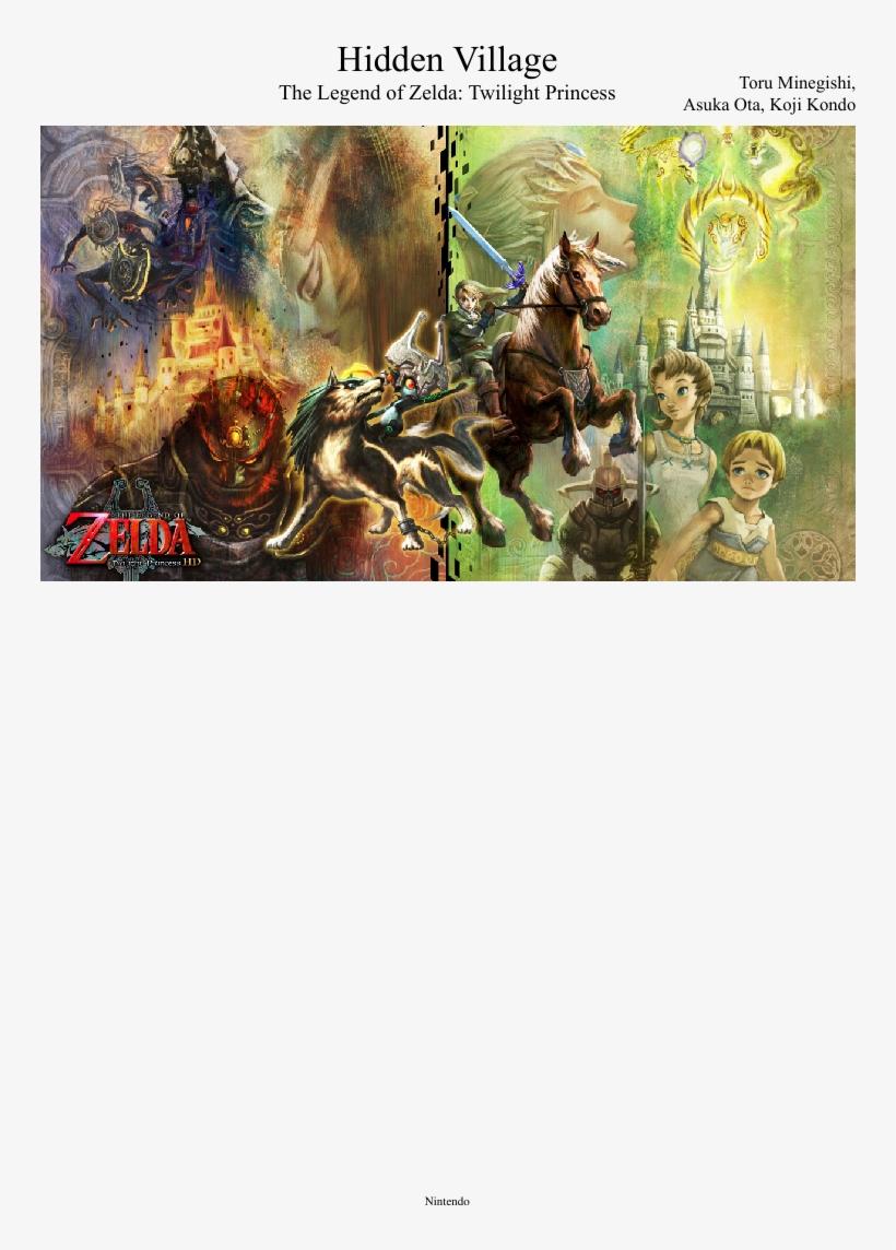 Uploaded On Jun 10, - Legend Of Zelda Twilight Princess Hd Nintendo Wii U, transparent png #5880976