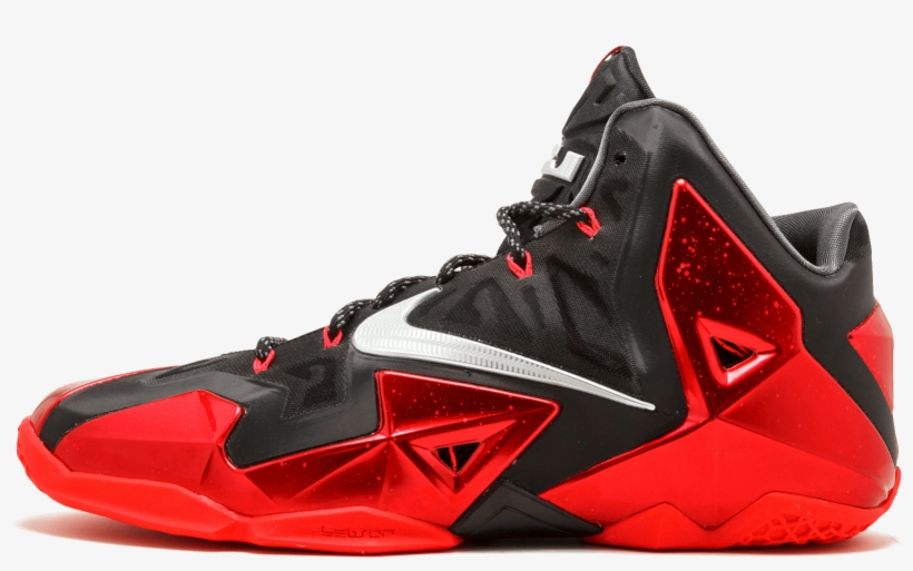 ca76d84b79f1 Back Nike Lebron 11 Away - Basketball Shoes - Free Transparent PNG ...