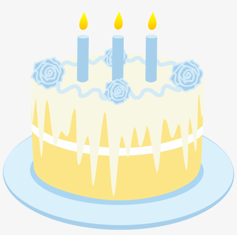 Free Clipart Birthday Cake With Candles