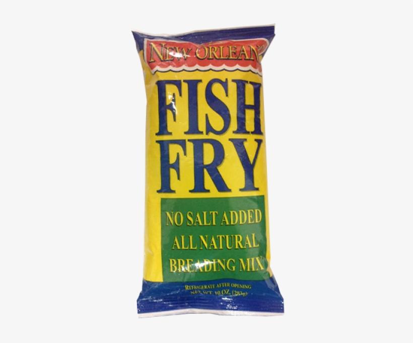Zatarain's New Orleans Seasoned Fish Fry Breading Mix - New Orleans Fish Fry - 10 Oz Bag, transparent png #590648