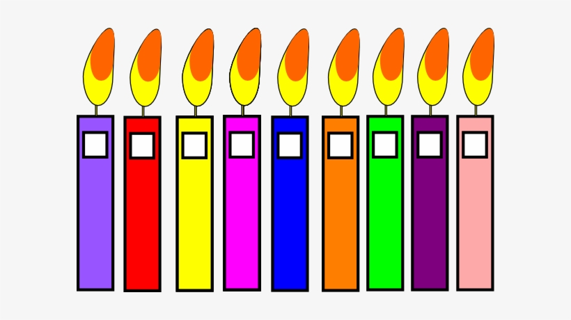 image about Printable Candles known as Candle Clipart Printable Birthday - Clip Artwork - No cost