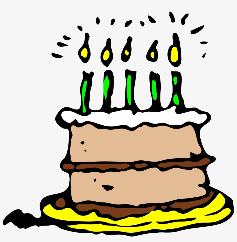Free Birthday Candle Clipart - Birthday Cake Pixel Png, transparent png #591320