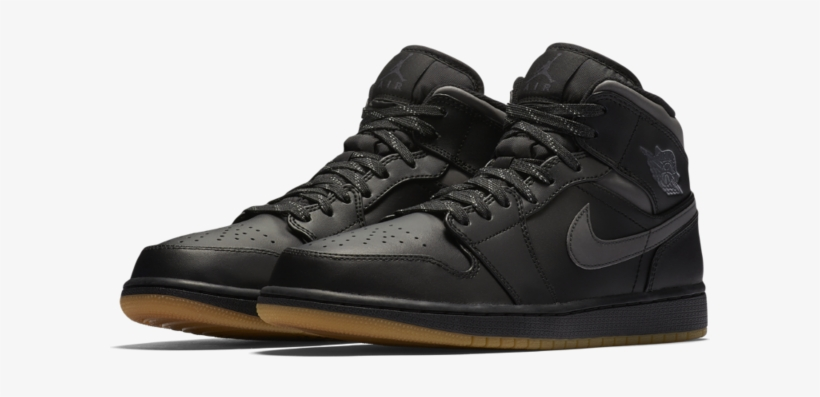 1645c33e3a29 Jordan - Air Jordan 1 Mid Winterized Men s Shoe - Free Transparent ...
