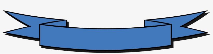 Black Ribbon Banner Clipart - Blue Ribbon Banner Clipart, transparent png #591701