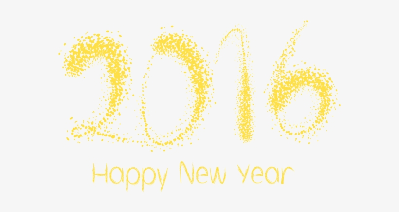 Happy New Year 2016 - Happy New Year 2016 Png, transparent png #591867