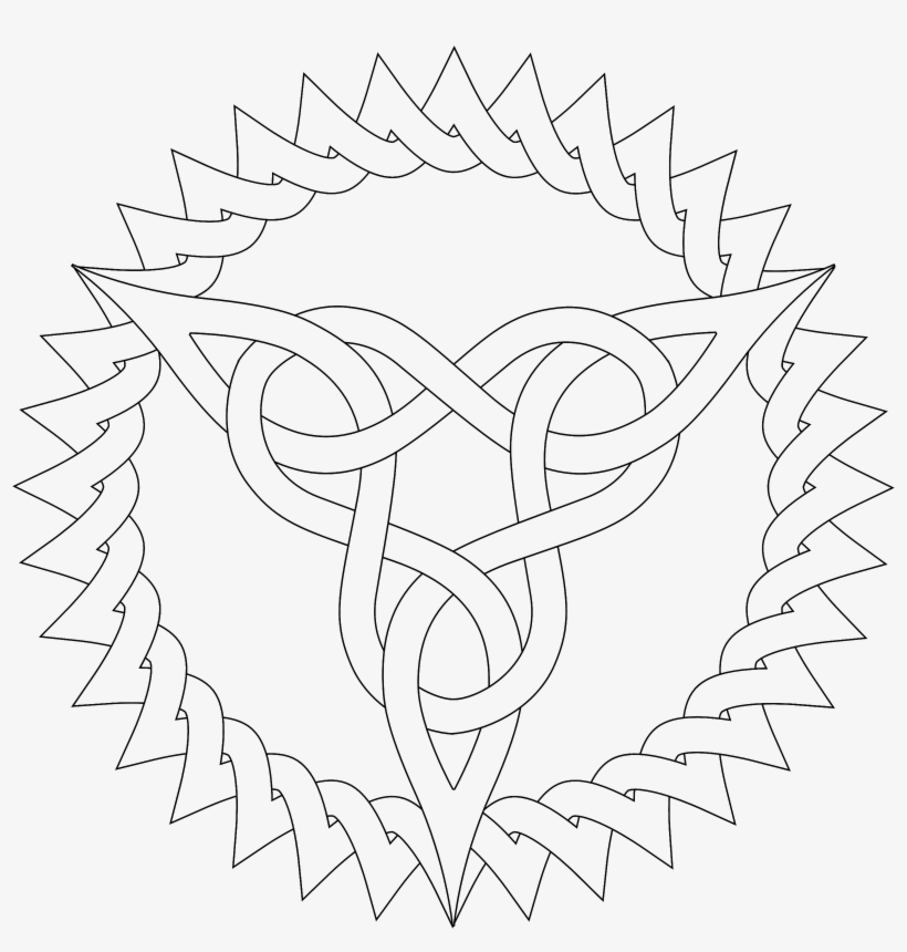 Pattern Coloring Pages Celtic Knot Patterns Colouring Free