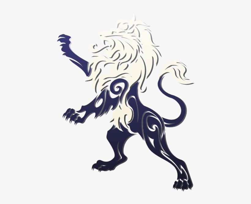 Liath Lh Lion - Tribal Lion Tattoo, transparent png #593584