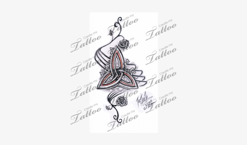 Triquetra Tattoos Trinity Knot Celtic Symbol Meanings Keltisches
