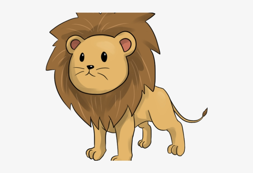 Mountain Free On Dumielauxepices Net Brown - Cute Lion Animated Baby, transparent png #593649