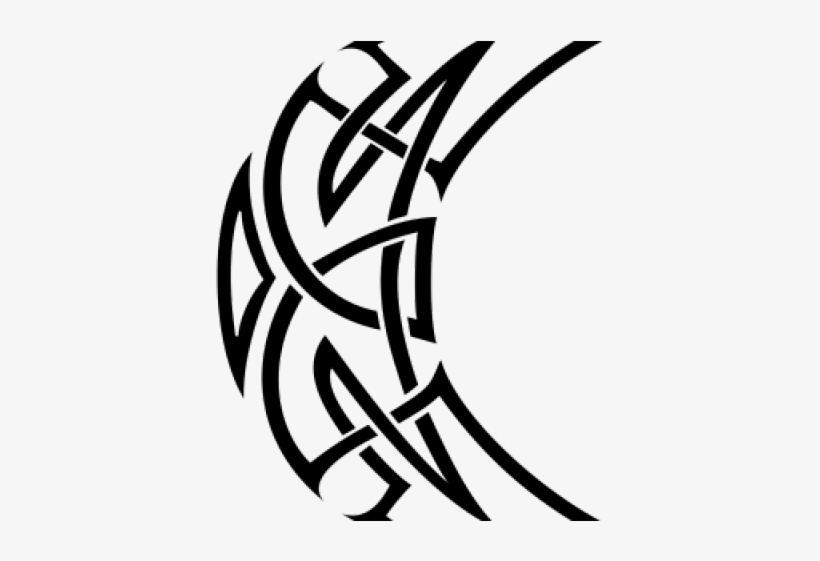 Celtic Knot Tattoos Png Transparent Images - Tribal Tattoo Transparent Background, transparent png #593832