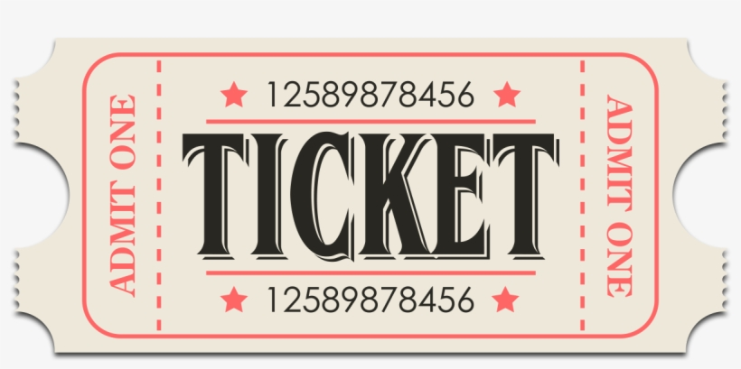 Tickets On Sale Now Click The Ticket Below To Order - Ticket Retrò, transparent png #594307