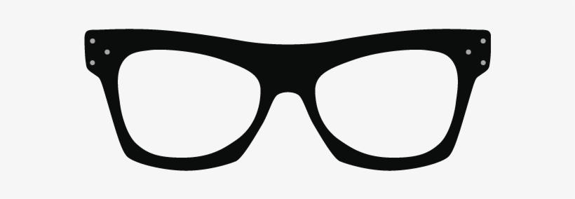 Kanye West Glasses Png - Thick Glasses Png, transparent png #595243