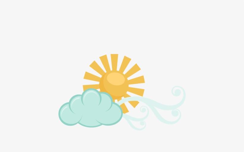 Windy Cloud Svg Scrapbook Cut File Cute Clipart Files - Miss Kate Cuttables Windy, transparent png #596120