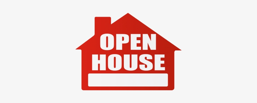 Open House Png - Open House Sign Clip Art, transparent png #596291