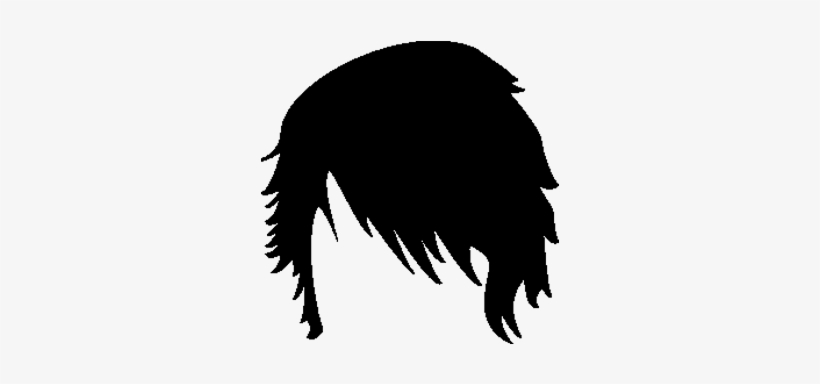 Emo Hair Png - Only Hair Images Men, transparent png #596393