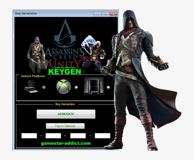 Assassin's Creed Unity Keygen - Imagenes De Assassins Creed Unity, transparent png #597750