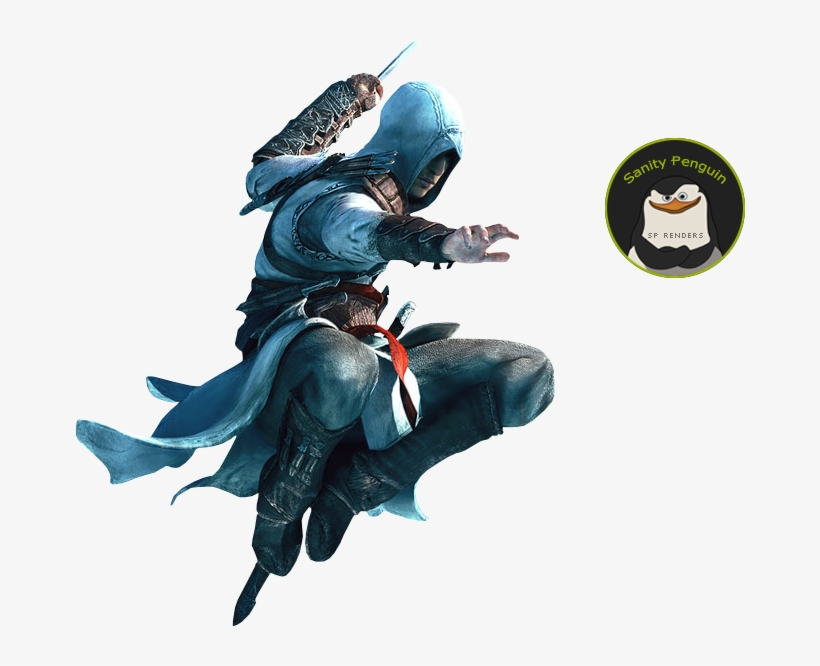 Assassin's Creed Altair Air Assassination, transparent png #598236
