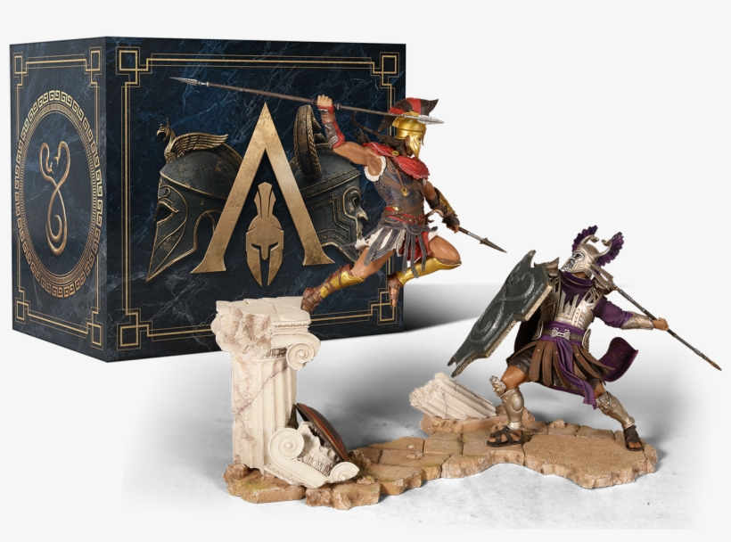 Ubisoft And Ubicollectibles Are Proud To Present The - Assassins Creed Odyssey Collector's Edition, transparent png #598365