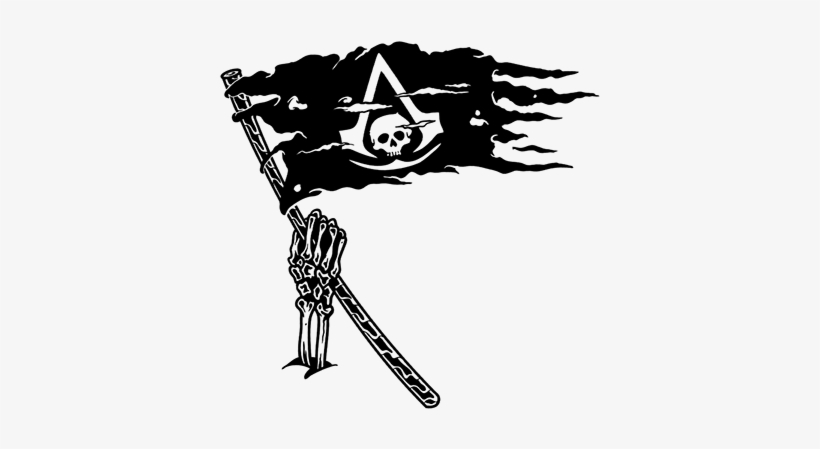 Assassins Creed Black Flag Tattoo Free Transparent Png Download