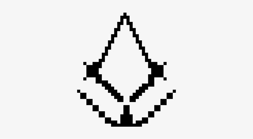 Assassins Creed - Minecraft Pixel Art Assassins Creed, transparent png #598631