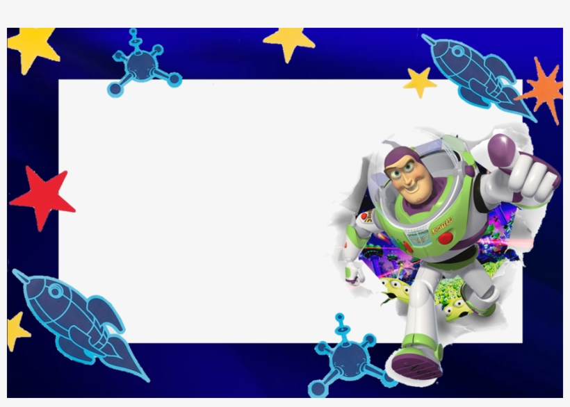 Buzz Lightyear Saying To Infinity And Beyond Clipart - Etiquetas Para Cuadernos De Toy Story, transparent png #599653