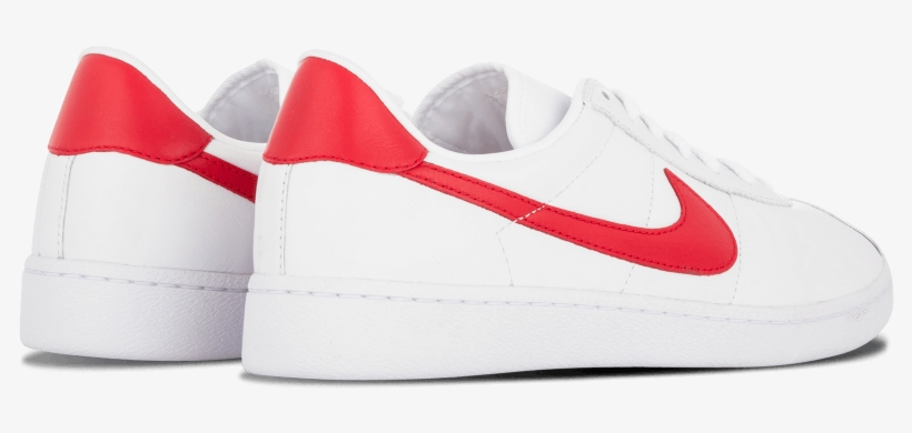 Acercarse Subdividir munición  Bruin Leather 'marty Mcfly' - Nike Bruin Leather White Red - Free  Transparent PNG Download - PNGkey