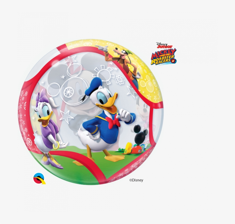 """Disney Mickey Mouse & Friends Balloon - 22"""" Mickey & His Friends Bubble Balloon, transparent png #5925588"""