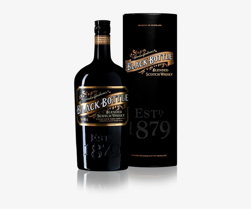 Black Bottle Blended Scotch Whisky - Black Bottle Blended Scotch Whiskey, transparent png #5930721