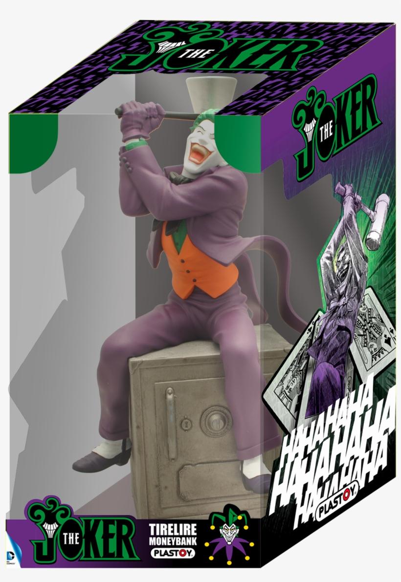 Tirelire The Joker 80059 Plastoy-1 - Piggy Banks - Dc Comics Bust Bank Joker 27 Cm--plastoy, transparent png #5931031