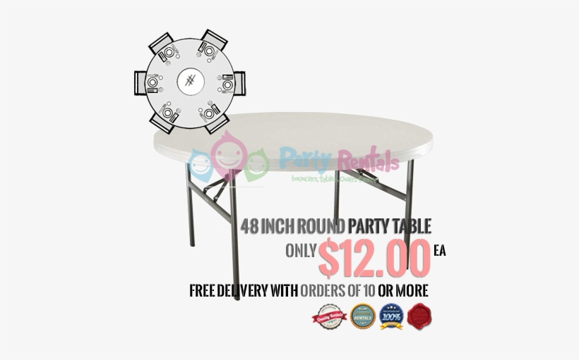 Round Table Rentals San Diego 48 Configuration - San Diego, transparent png #5931186