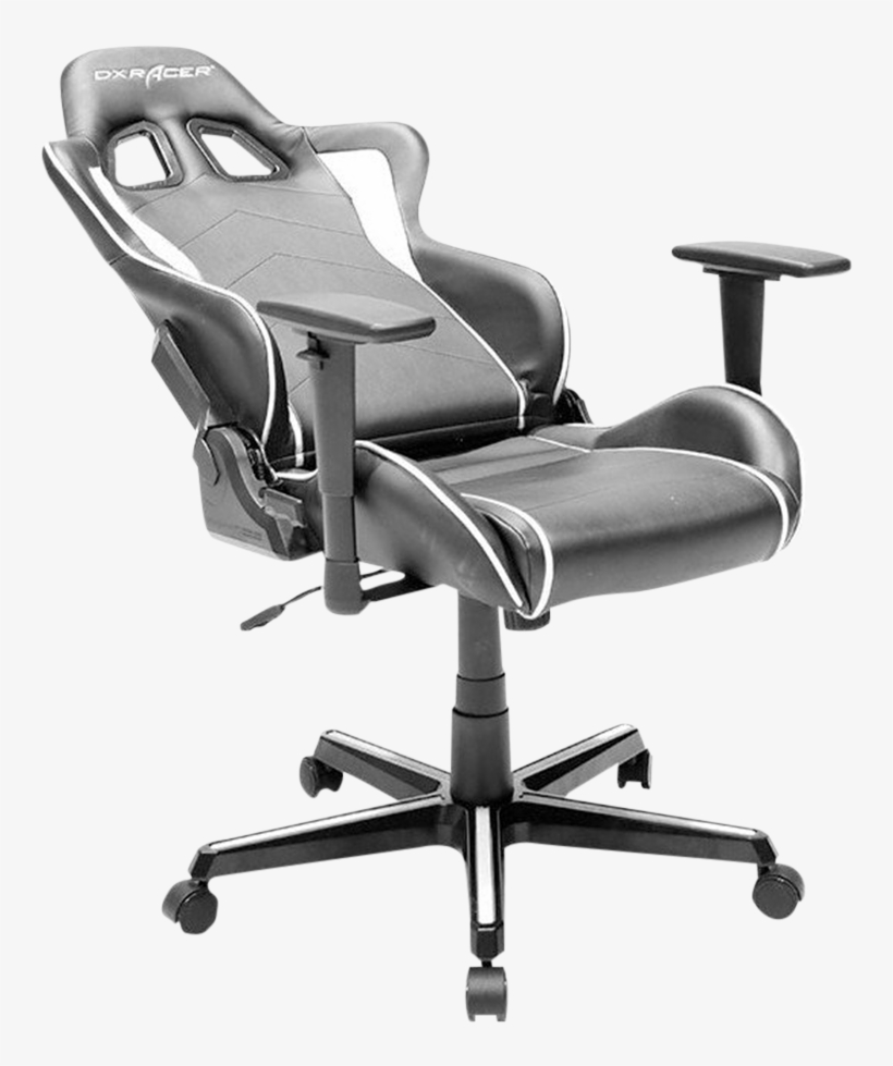 Dxracer Formula Fh08/nw Gaming Chair - Dxracer Oh Fh08 Nw, transparent png #5946528