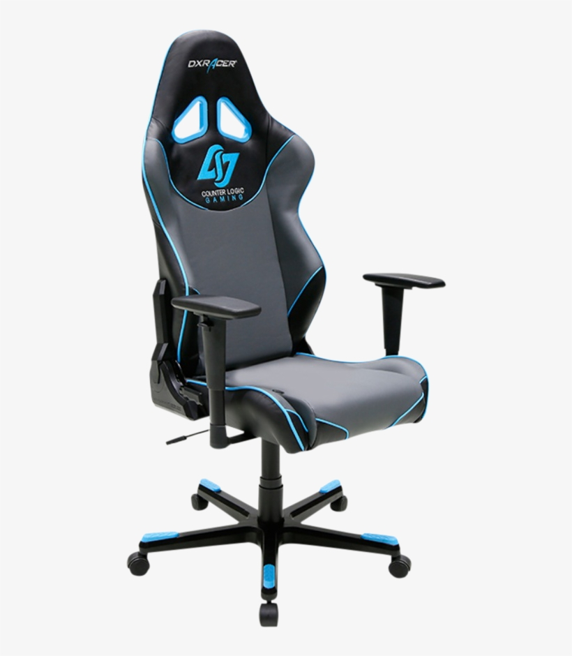 Dxracer Racing Re129/ngb/clg Gaming Chair - Dxracer Game Seats Racing Gaming Chair, Black, transparent png #5946769