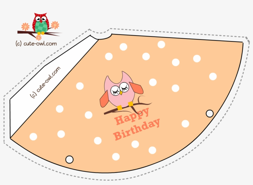 Owl Birthday Party Hat 6 - World's Best Builder Happy Birthday Card, transparent png #5948538